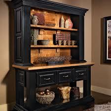 kitchen furniture hutch. Wood Storage Beautiful Looking Black Kitchen Hutch KraftMaid Cabinetry Vintage Onyx Rustic Cabinets Furniture