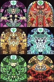 legend of zelda stained glass sages in stained glass legend of wind legend of zelda stained