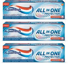 <b>Зубная паста</b> Aquafresh <b>All</b>-in-<b>One Protection</b>, 3 шт по 75 мл