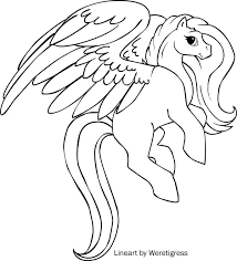 Small Picture pegasus coloring pages