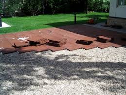 Affordable Outdoor Flooring Options In Compact Outdoor Rubber Tiles For  Patio Rubber Outdoor Flooring For Patios