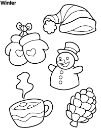 Small Picture Winter Coloring Pages Children Winter Coloring Pages Free