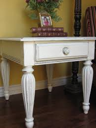 extraordinary white antique side table 18 4
