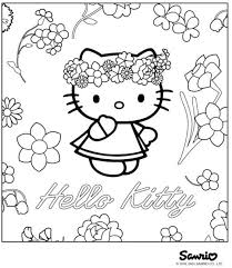 Small Picture Hello Kitty Birthday Coloring Pages newsletter templates for