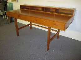 fabulous danish modern teak flip top desk by peter løvig nielsen