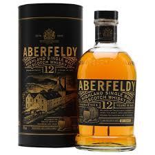 picture of aberfeldy 12yo single malt whisky gift box 1000ml