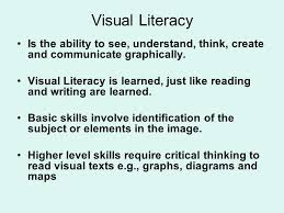 Visual Literacy Definitions Visual Literacy Viewing And Visually Representing These Are