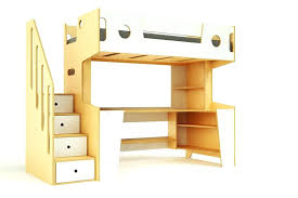 bunk bed with slide and desk. Loft Bed With Slide Ikea Stairs Hack Bunk And Desk