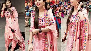 Punjabi New Suit Design 2018 Latest Panjabi Patiala Salwar Suit Designs 2018 Panjabi Dresses Designs Designer Panjabi Suit