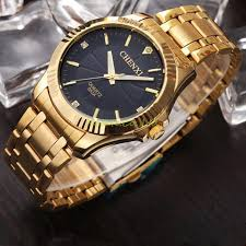 watch watch baby picture more detailed picture about chenxi chenxi clock gold fashion men watch full gold stainless steel quartz watches wrist watch whole gold