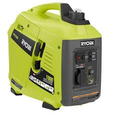 Ryobi 1 000 Watt Gasoline Powered Digital Inverter Generator