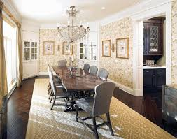 dining room painting coffered ceilings floor to ceiling window rectangular natural wooden kitchen cabinet thick