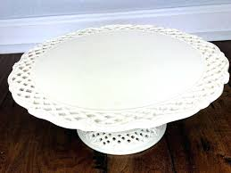 tall white cake stand ceramic als