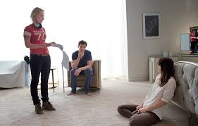 behind the scenes of fifty shades of grey movie vanity fair sam taylor johnson directs her actors