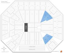 Wintrust Arena Seating Chart With Rows Wintrust Arena Seating Chart