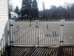 vinyl fence with metal gate. FENCEWORKS - VINYL FENCE Vinyl Fence With Metal Gate