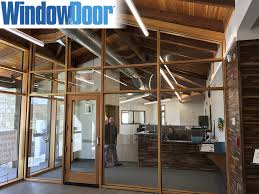 window door the publication serving the entire fenestration industry recently featured the launch of loewen s timber curtain wall