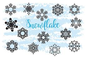 You can also open these svg files up in software such as adobe illustrator and integrate them into your vector designs and decorations.you can download your free christmas mickey mouse snowflake svg pack below. Free Illustrations Download Christmas Decor Snowflake Clipart Snowflake Silhouette Free Design Resources