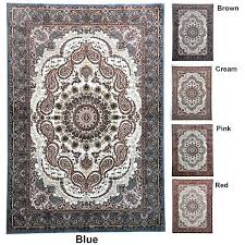 8x8 square wool area rugs round rug 7 feet blue brown cream pink red carpet