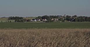 grassy field background. A Grassy Field At The Countryside And A Village In Background. Stock  Video Footage - Videoblocks Background