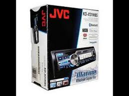 review on jvc kd xmbs marine utv motorcycle stereo