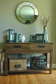 Living Room Entrance Designs 17 Best Ideas About Console Table Decor On Pinterest Foyer Table