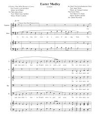 Easter Medley Anthem Lights Sheet Music Easter Lds Sheet Music 2yamaha Com