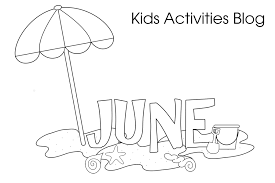 free printable coloring pages june coloring home