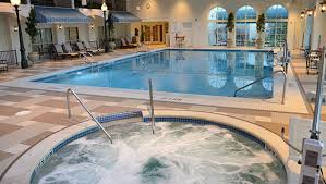 Indoor pool and hot tub Home Indoor Pool Hot Tub The Hotel Hershey Pools Facilities The Hotel Hershey