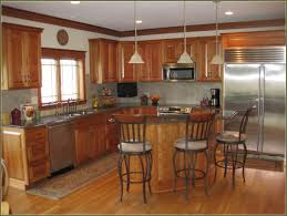Natural Cherry Cabinets Natural Cherry Cabinets With Granite Home Design Ideas