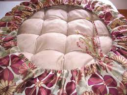 cover no sew papasan chair diy cushion covers and throughout decorations 13