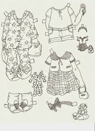 Small Picture 721 best Arielle Gabriel Paper Dolls Black And White Free PD