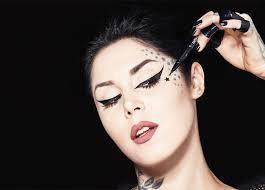 ged in beauty kat von d makeup openings
