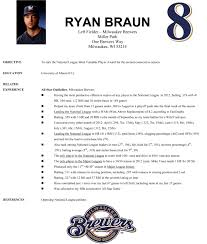 Professional Baseball Player Resume Resume For Study