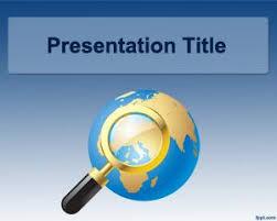 International World Powerpoint Template