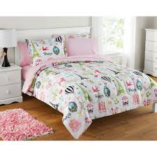 girls twin size bedding set bed