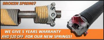 garage door repair rochester mnBroken Spring Replacement  Anytime Garage Door Repair Rochester MN