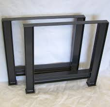 industrial furniture legs. Industrial Table Legs Massive Structural Steel I Beam Image 1 Furniture