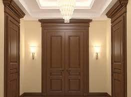 wood design door frames using wood