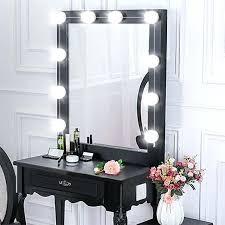 makeup mirror with light style led vanity mirror lights kit light bulbs lighting fixture strip best