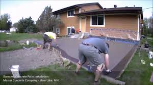 Image Dark Brown Stamped Concrete Patio Time Lapse Youtube Stamped Concrete Patio Time Lapse Youtube