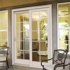 left hand composite sliding patio door