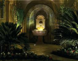 design fountain lighting outdoor wall fountain with light gardening hints and tips