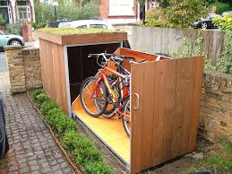 collect this idea outdoor bike garage