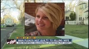 Richard Kirk pleads not guilty to murder of wife, Kristine Kirk, in case  tied to pot edibles - YouTube