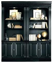 black bookcase glass doors black bookcases with doors black bookcase book shelf with doors diy murphy