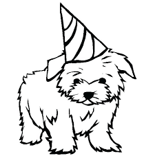 Cute Dog Coloring Pages Puppy Pictures To Color Puppies Dogs Amazing