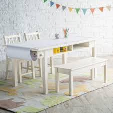 Kid art tables with storage Elegant Classic Playtime Vanilla Deluxe Activity Table With Free Paper Roll Eleganciadressesco Kids Tables With Storage Hayneedle