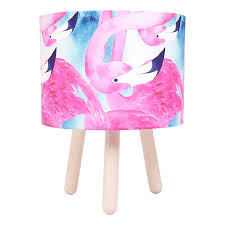 Flamingo Table Lamp Timber By Micky Stevie Zanui