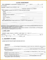 lease contract template lease contract format lease agreement create a free rental